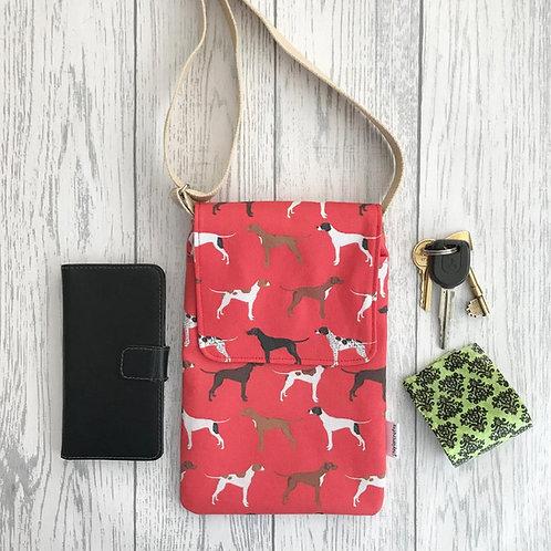 Red Pointer Handy Shoulder Bag
