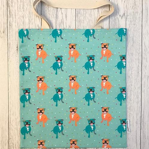 Staffordshire Bull Terrier Bag for Life