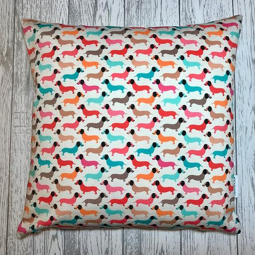 Funky  Dachshund  Cushion Cover