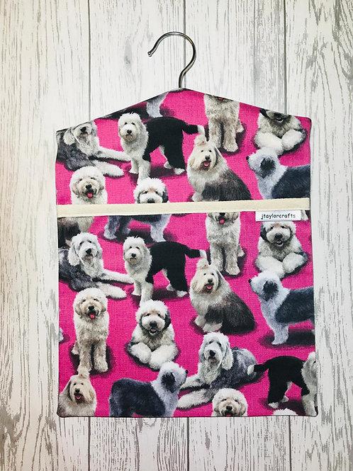 Sheepdog Peg Bag