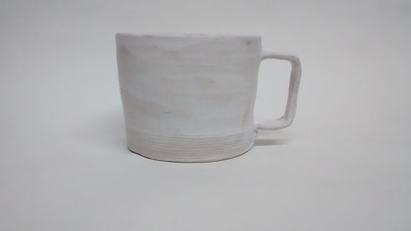 Simply white cup