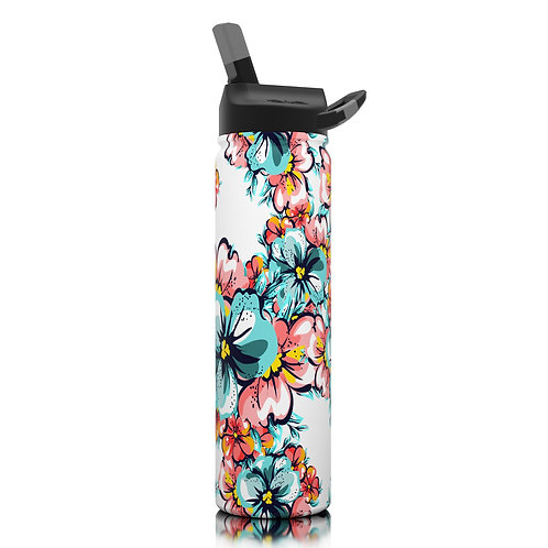 SIC 27oz limited edition hibiscus water bottle