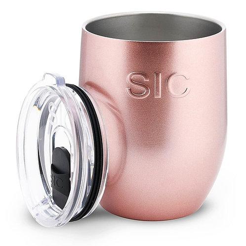 copy of SIC 16oz Stemless Ultra Rose Gold Glitter