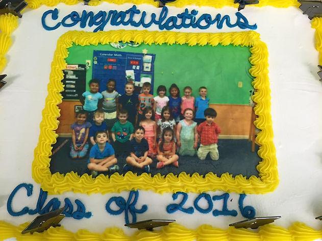 First Step Preschool Class of 2016 Graduation