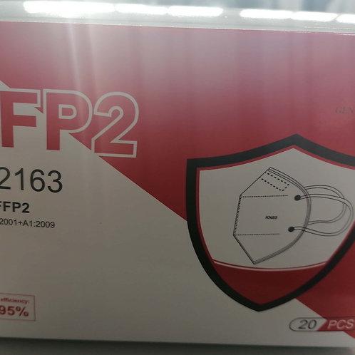 MASCHERINE FFP2 (20 PZ) - BIANCO