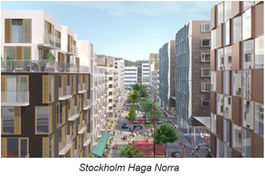 Haga Norra in Stockholm  and Förseglet in Västerås (Sweden) have choosed  Automatic waste conveying