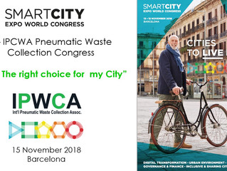 "3rd IPWCA congress at the Smart City Expo World Congress in Barcelona  ""PWC: The right choice f"