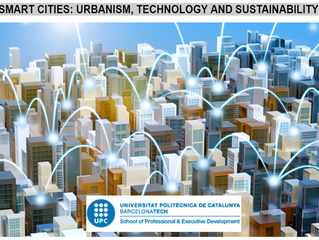 Teaching at the UPC: smart cities: urbanism, technology and sustainability