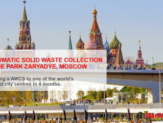 """""""A new Waste Collection System to the new urban park Zaryadye in Moscow/ Russia"""""""