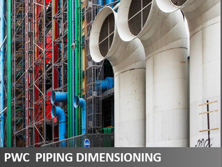 FINALLY RELEASED: PIPING DIMENSIONING GUIDELINES & PERFORMANCE TEST PROCEDURES