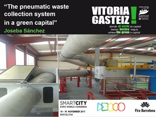 """""""The pneumatic waste collection system in a green capital"""""""