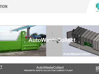 """""""Autowaste Collect: a modular compact system for malls and hospitals"""""""