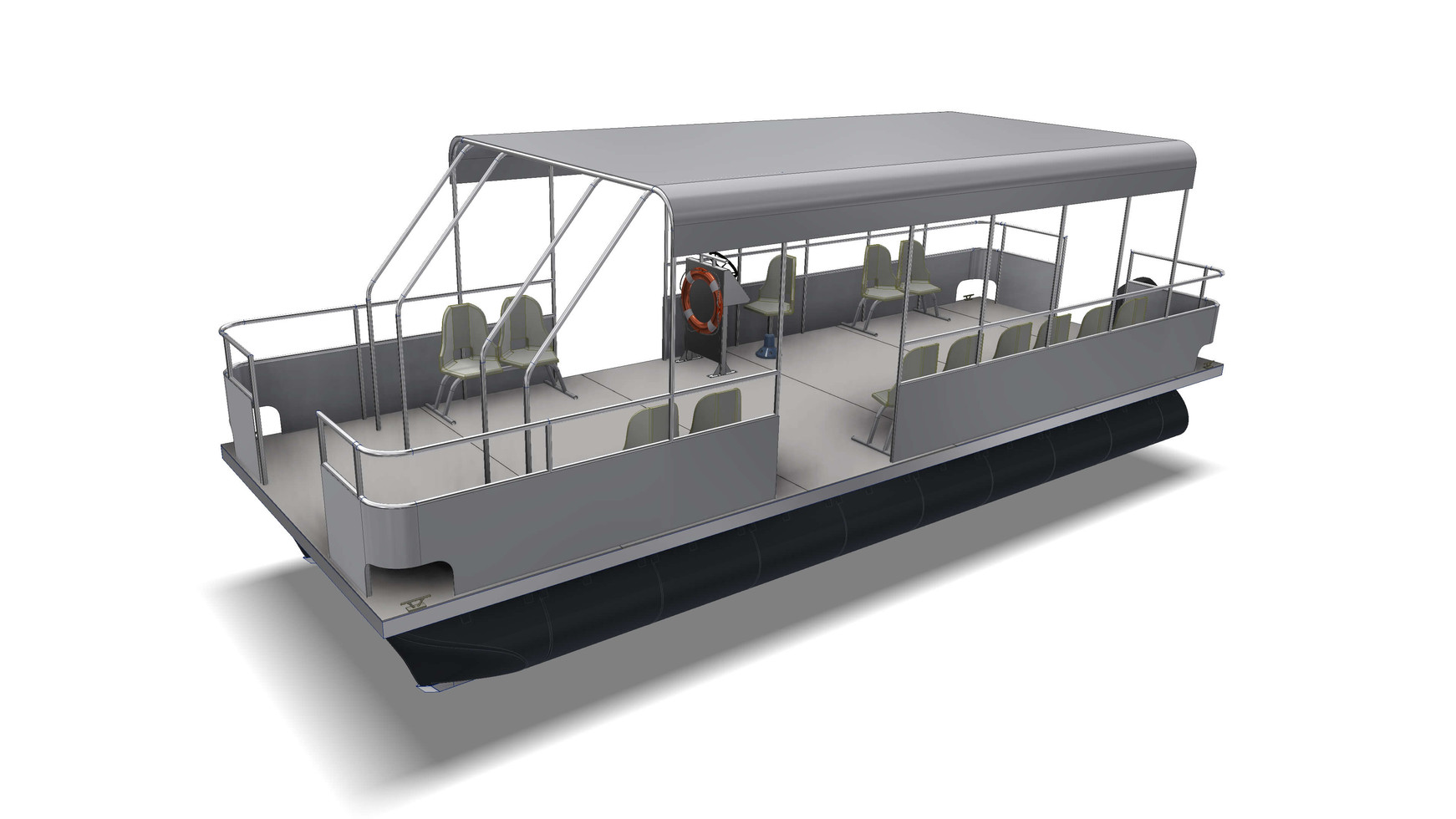 Small ferry