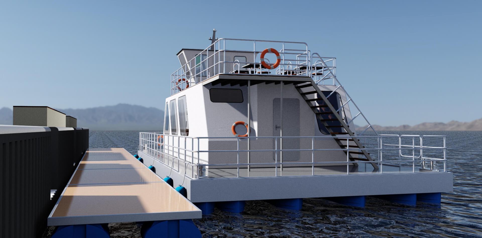 Design of a ferry