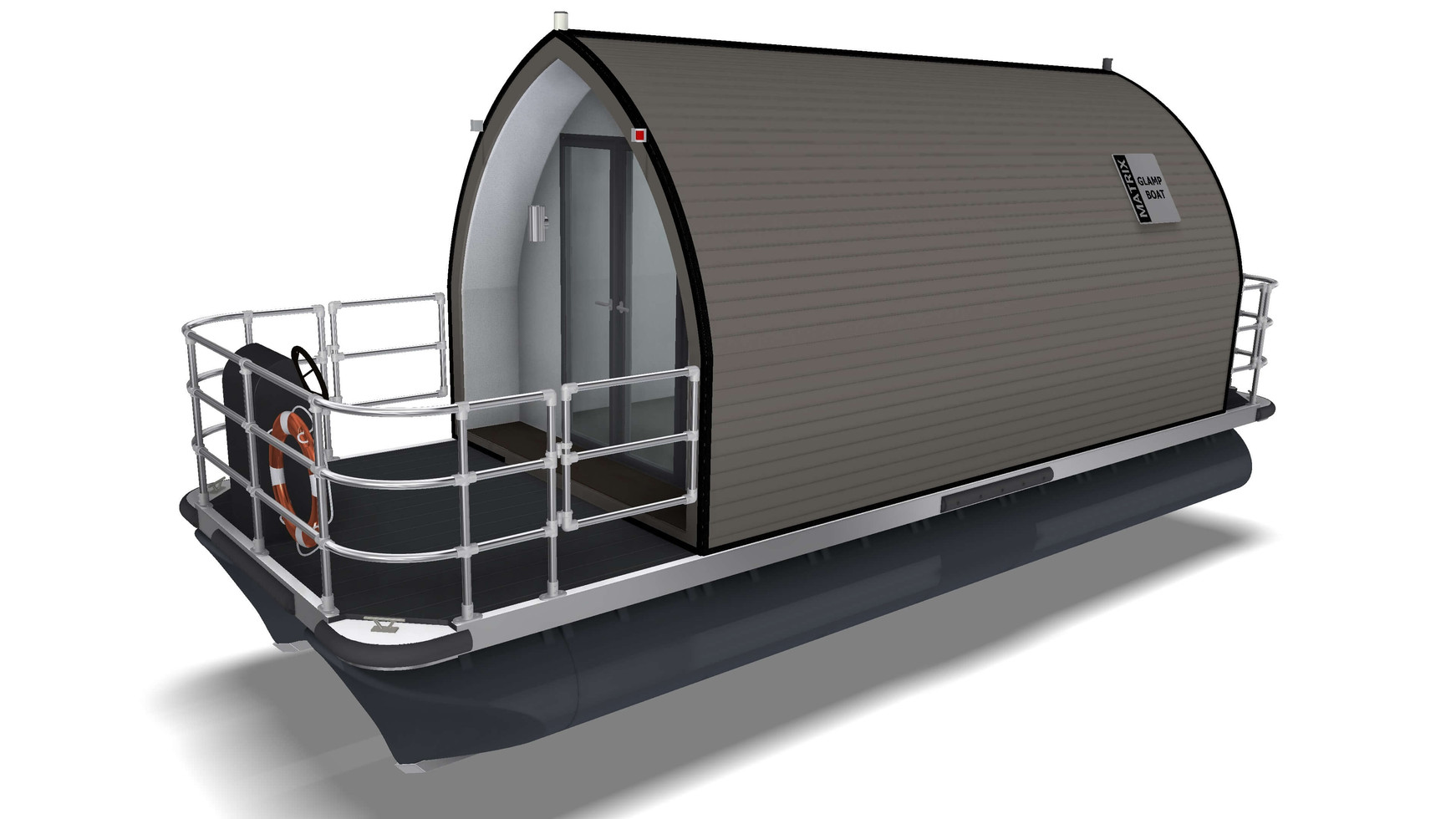Design of a glamping pod