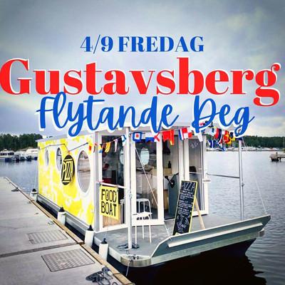 Flytande Deg Pizza boat in Stockholm Sweden