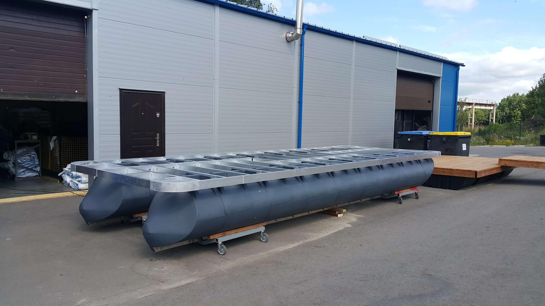 7,4m x 3m special order catamaran
