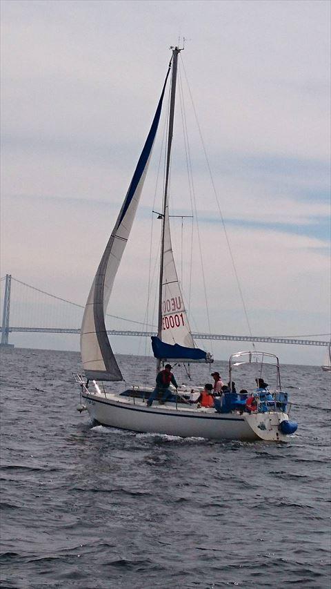 ヨット乗船体験