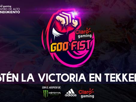 ¡Anunciamos Claro gaming GOD FIST Season 2!