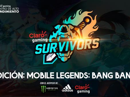 ¡Bienvenido a Claro gaming SURVIVORS - Mobile Legends: Bang Bang!