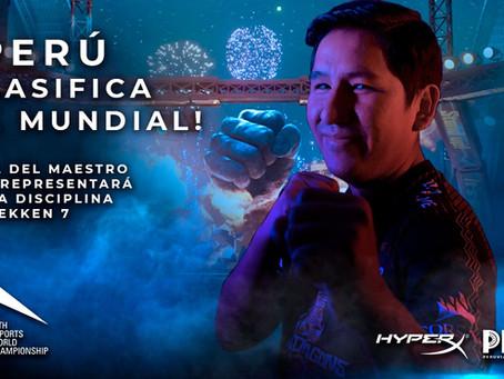 ¡Abel del Maestro clasifica al IESF WC 2020 tras ganar las regionales de Tekken7!