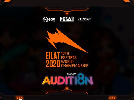 Clasificatorias Nacionales de Audition para la EWC Eilat 2020 de PESA y Axeso5