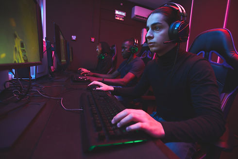 e-sports-gamers-playing-online-game-via-