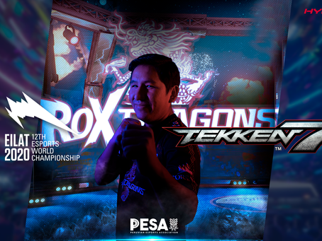 Abel del Maestro de ROX Dragons luchará para PESA en la IESF EWC, 2020