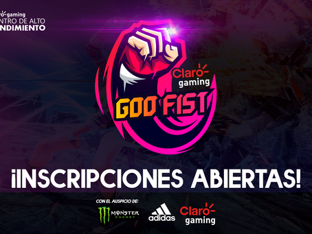 ¡Claro gaming y PESA anuncian la Claro gaming GOD FIST de Tekken 7!