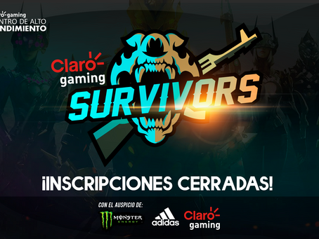 ¡Claro gaming y PESA anuncian la Claro gaming Survivors de Free Fire!