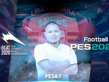 JhonaKRA es el representante de PESA para eFootball PES en la IESF EWC, 2020