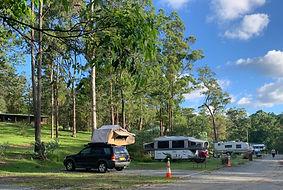 Bush Camping suitable for caravans, motor homes, camp trailers, big rigs.