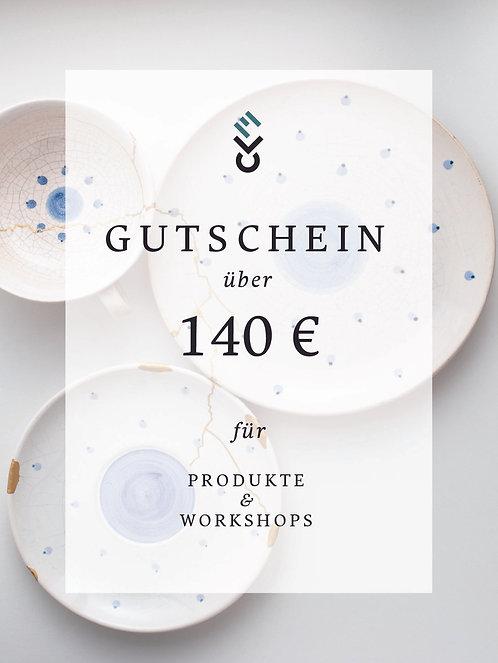140 € Gutschein