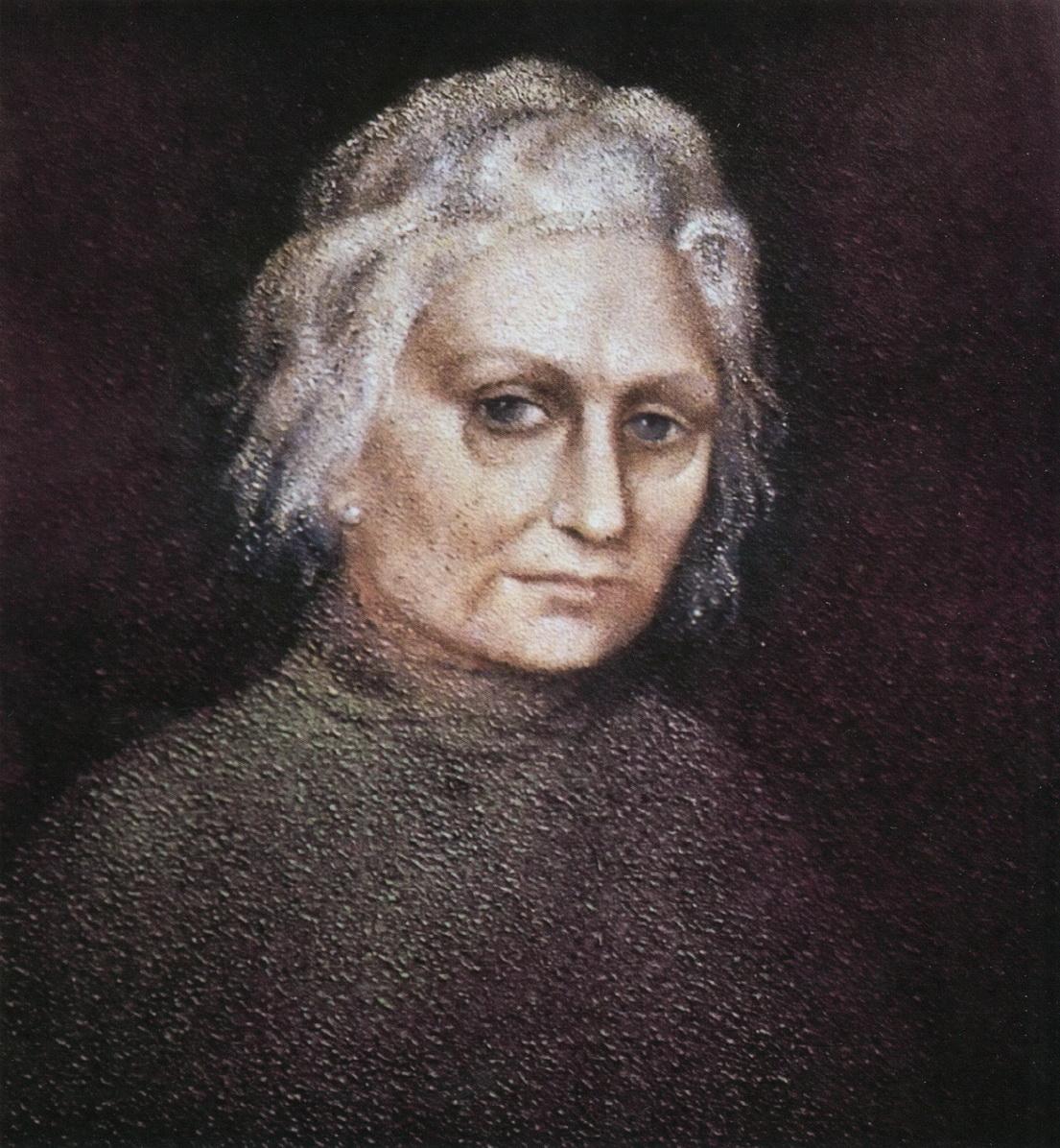 Портрет Мэри Шелванкар