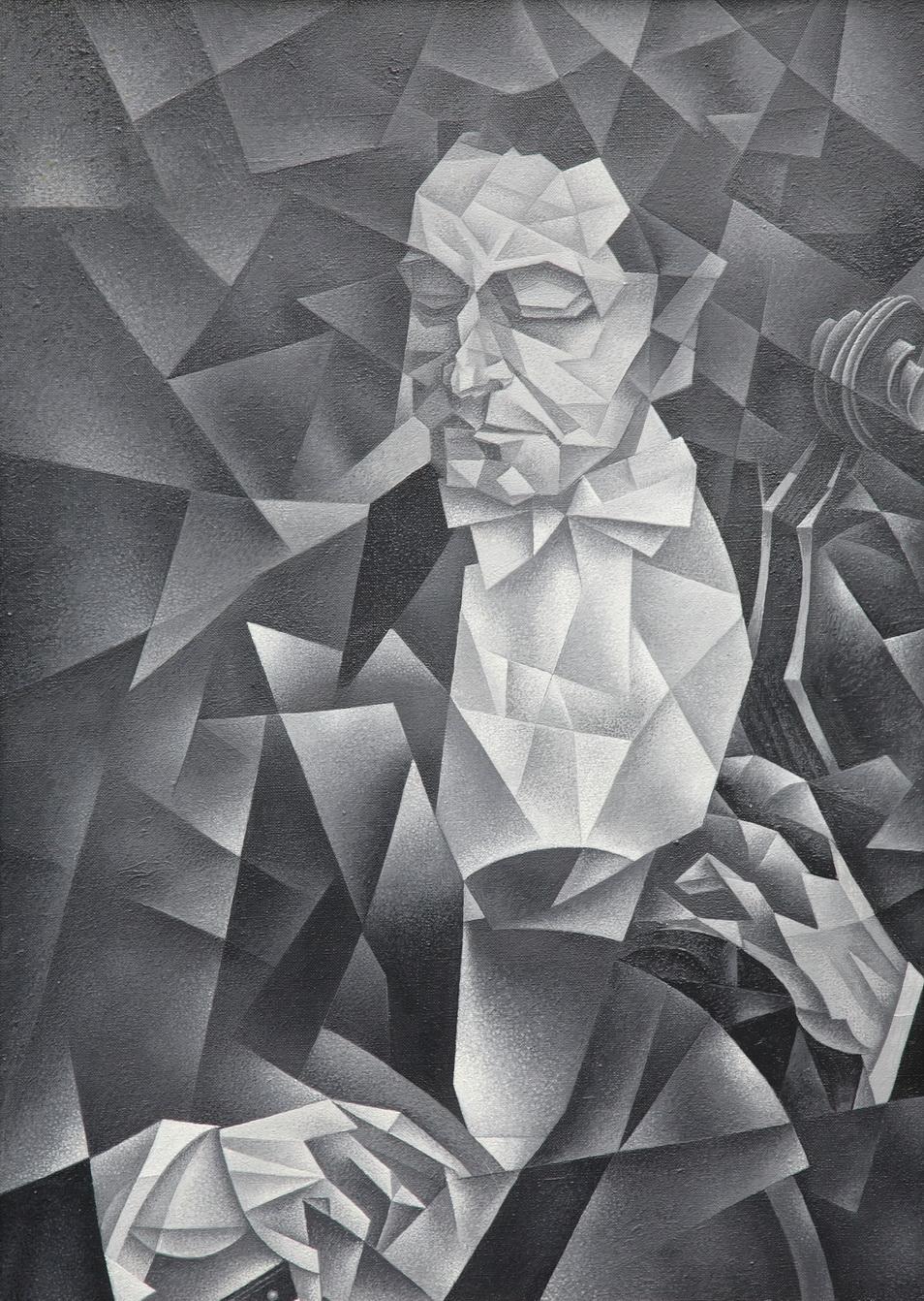 Портрет виолончелиста В.Берлинского