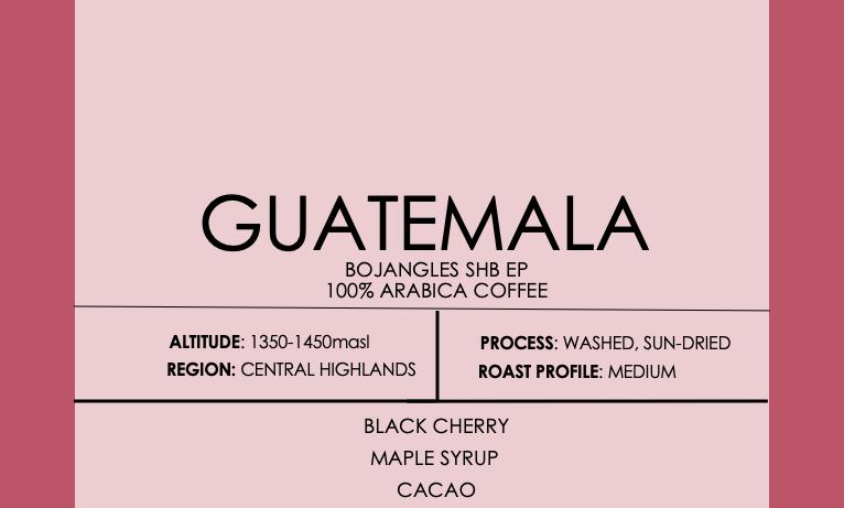 Guatemala Bojangles SHB EP