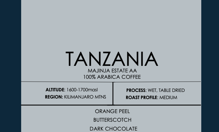 Tanzania Majinja Estate AA