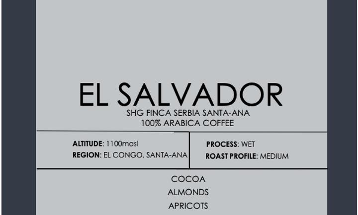 El Salvador SHG Finca Serbia Santa-Ana