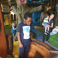 Mofe having fun with sensory activities