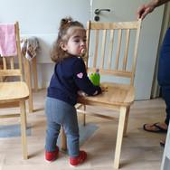 Elisa cruising in baby developmental phy