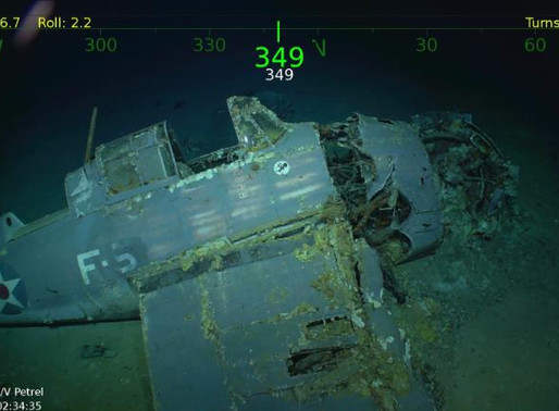 Billionaire explorer discovers sunken US WWII aircraft carrier