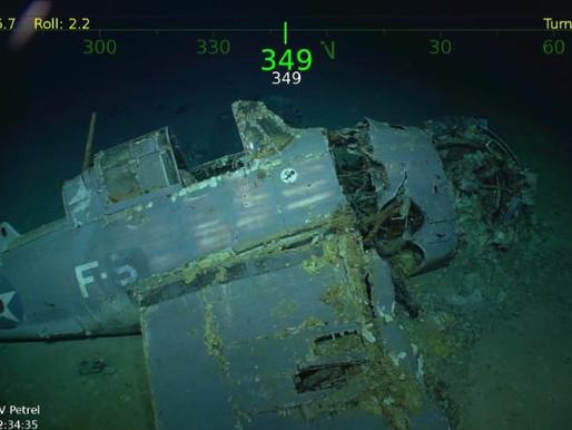 Billionaire explorer discovers sunken US WWII aircraft carrier