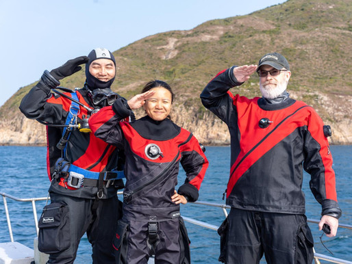 12th January 2020 – SCDC 1st Dive of 2020 in Sai Kung