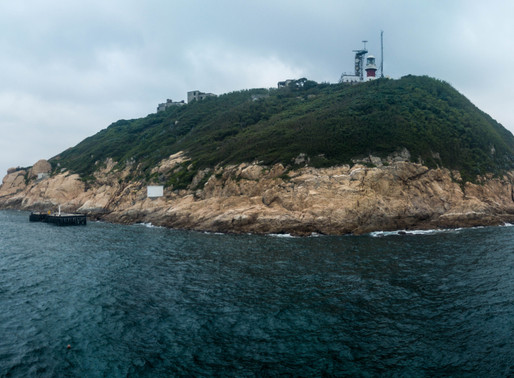 Hong Kong's Waglan Lighthouse: the light's on, but nobody's home