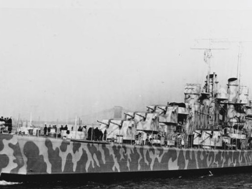 Wreck of sunken US WWII warship discovered in Pacific