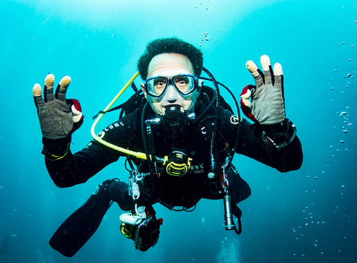 Grounded? Take a dive in Hong Kong to reveal underwater gems