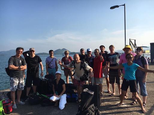 24/09/16 Bluff and Jin island dive report
