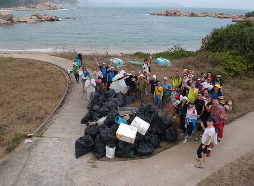 Beach Clean up – WWF, ABC, SCDC, OMG