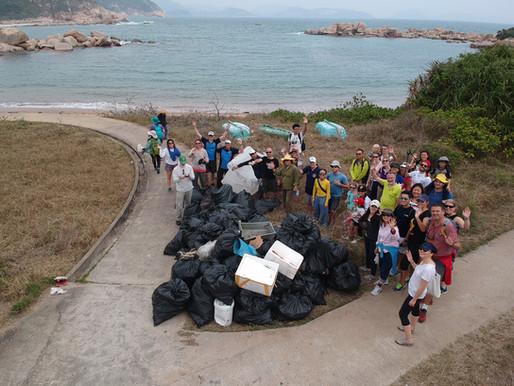 Beach Clean up – WWF, ABC, SCDC, OMG