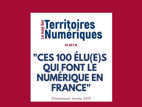 Ces 100 Elu(e)s qui font le numérique en France